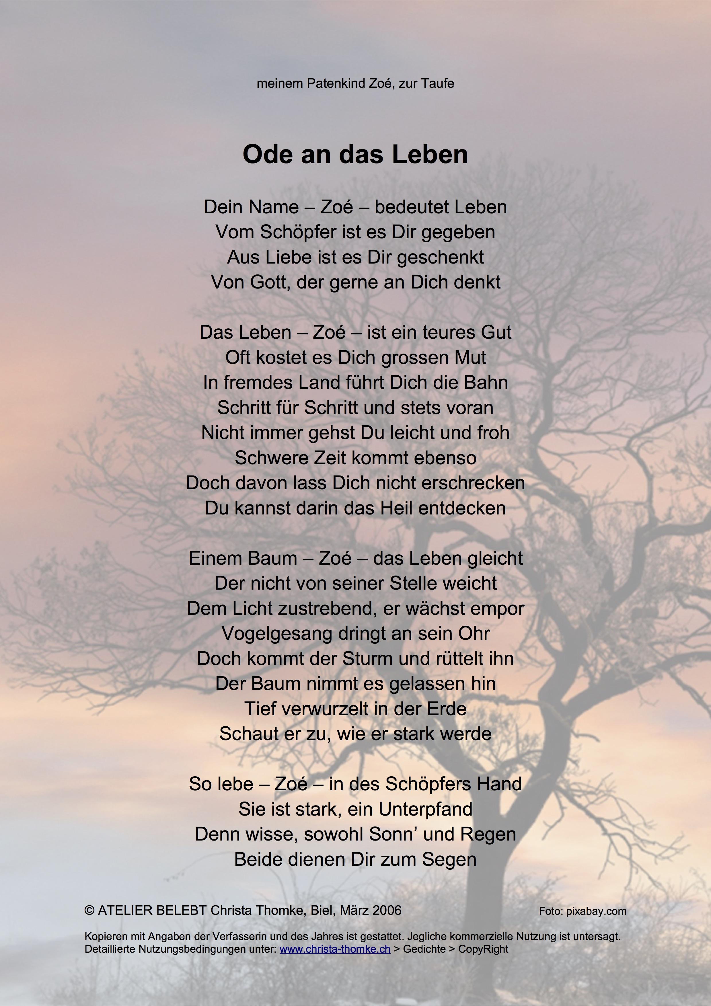 Gedicht Liebe Meines Lebens Gedicht Meines 2019 10 26